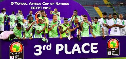 नाइजेरिया अफ्रिका कप अफ नेशन्समा तेस्रो