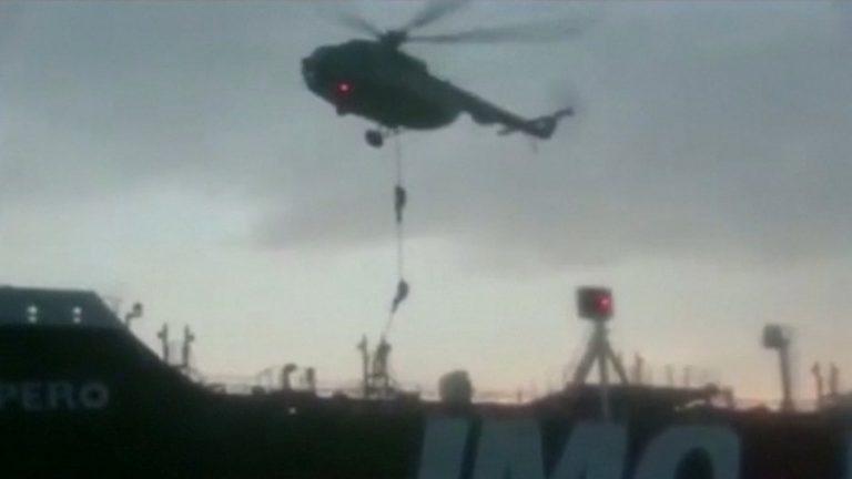 बेलायती तेल ट्यांकरका चालक दलका सदस्य सुरक्षित : इरान