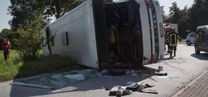 मेक्सिकोमा भयानक बस दुर्घटना, १५ जनाको मृत्यु