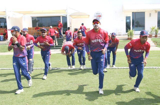 बन्द प्रशिक्षणअघि क्रिकेट खेलाडीको कोरोना परीक्षण