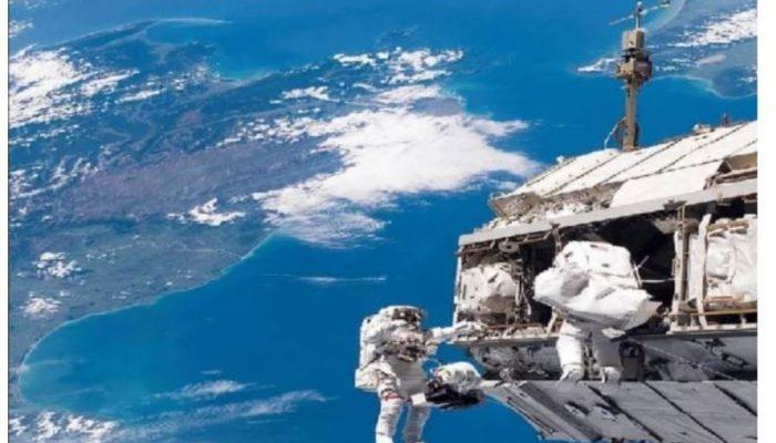 अन्तर्राष्ट्रिय अन्तरिक्ष स्टेसनका शौचालय खराब, अन्तरिक्ष यात्री डाइपरमा
