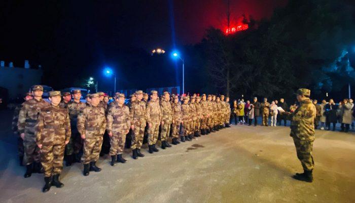 कोरोना भाइरस नियन्त्रण गर्न वुहानमा थप ५४० सैन्य स्वाथ्यकर्मी परिचालन