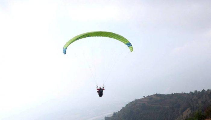 धरानको चिण्डेडाँडाबाट प्याराग्लाइडिङ उडान स्थगित