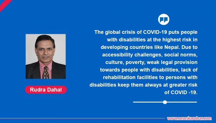 STRATEGIES TO ASSIST PEOPLE WITH DISABILITIES IN COVID-19 CRISIS?