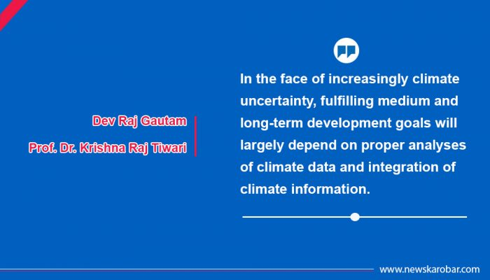 Role of Climate Information to Reduce Climate Risks in Nepal
