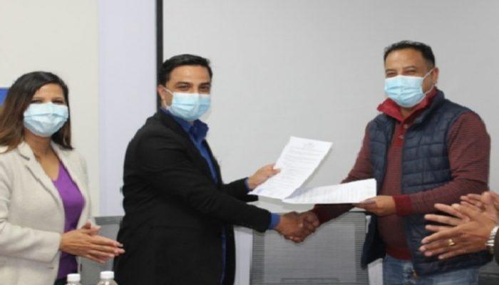 माछापुच्छ्रे बैंक र नेपाल भेटनरी संघबीच विशेष बैंकिङ सेवासम्बन्धी सम्झौता