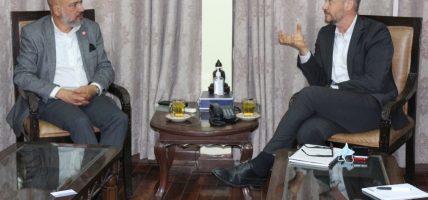 महासंघका पदाधिकारी र आइएलओका देशीय निर्देशकबीच भेटवार्ता